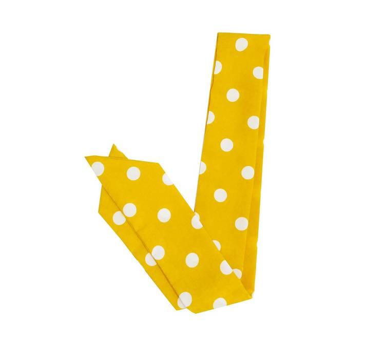 Viva Scarf Polka Dot Yellow