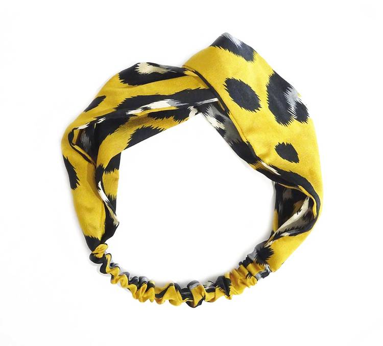 Mila Hårband Leo Yellow