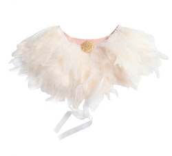Majestic Feather Collar Pale Pink