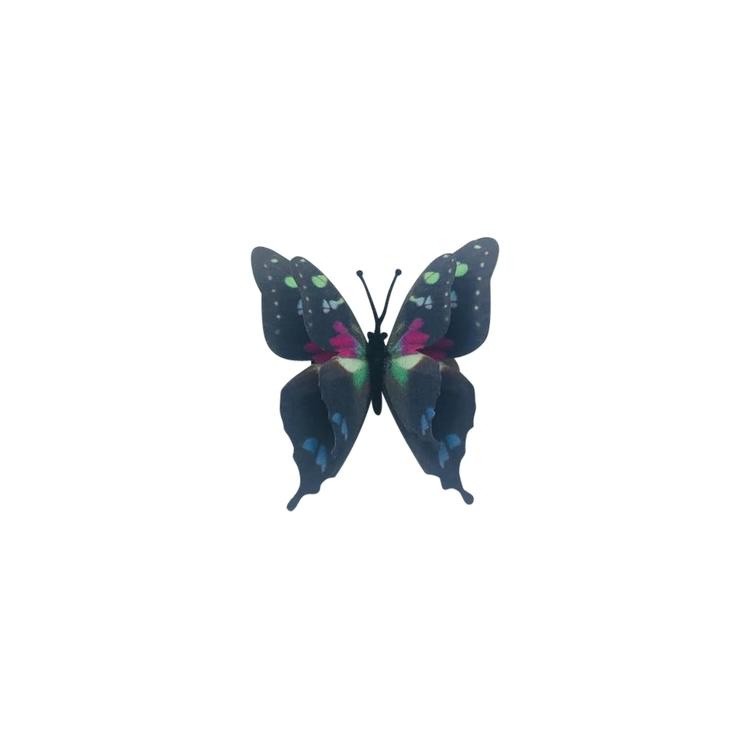 Hårclips  Butterfly Rosa eller Svart