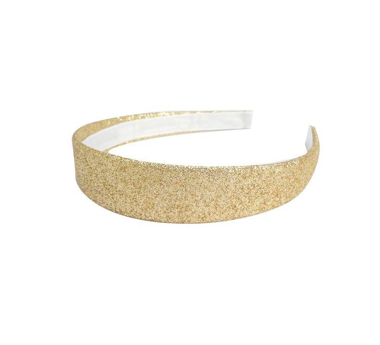 Sandy Diadem Glittery Gold