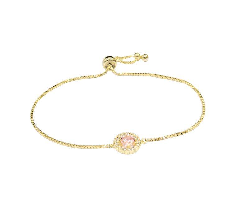 Estrade Armband Pink/Gold