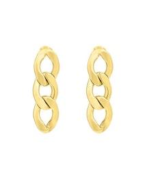 Milano chain Örhängen Guld