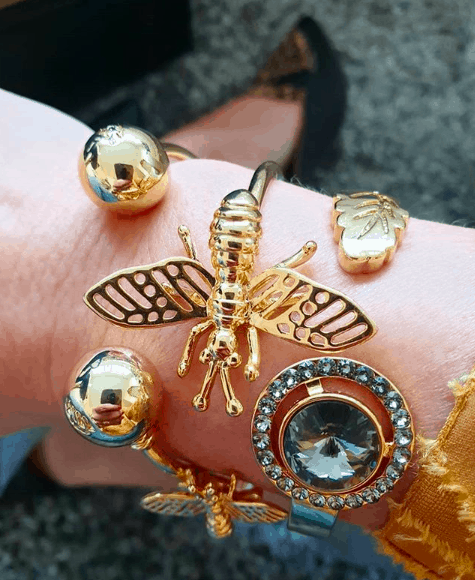 New Berry Cuff Armband