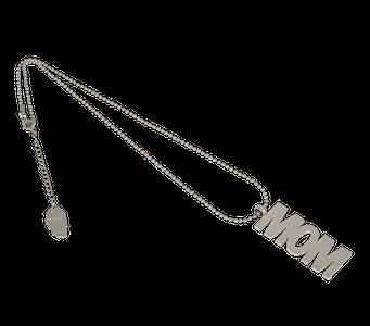 MOM Halsband  Silver