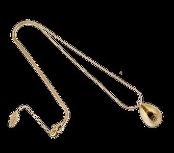 Massive Drop Halsband Gold