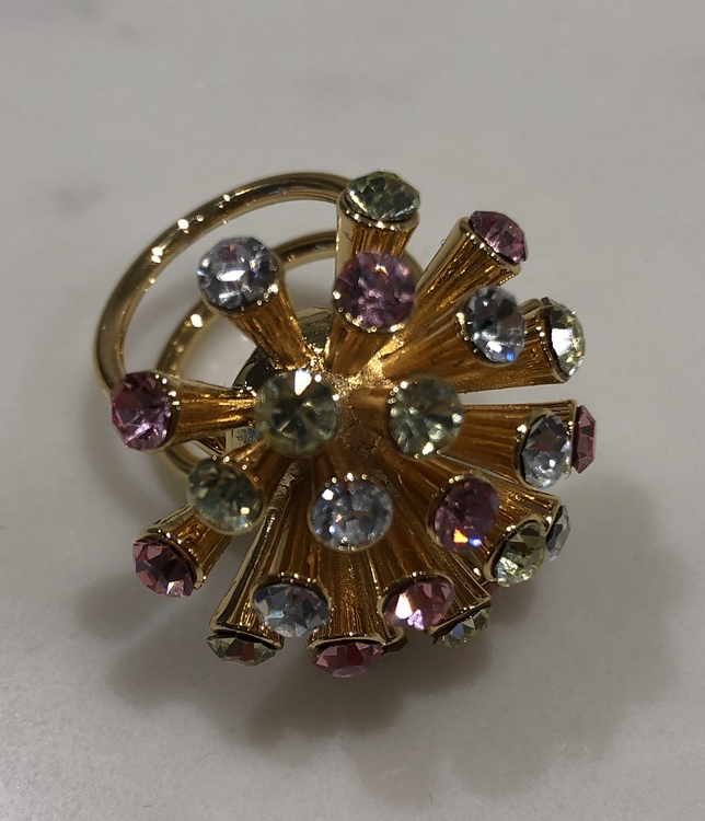 Meteor Ring Gold/Pink Mix