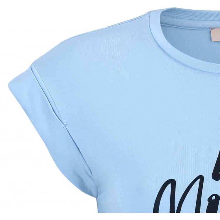 Summer T-shirt Cashmere Blue