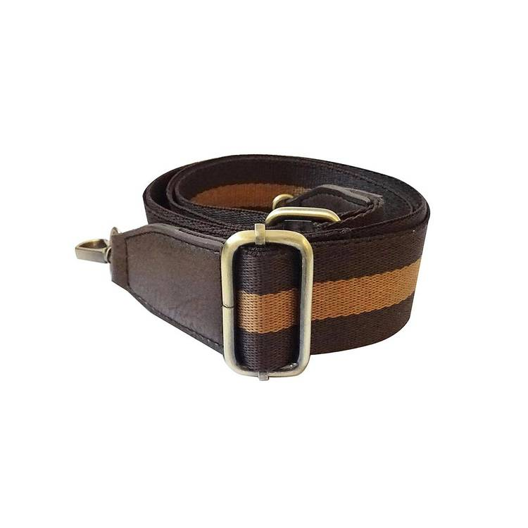 Strap Striped Brown