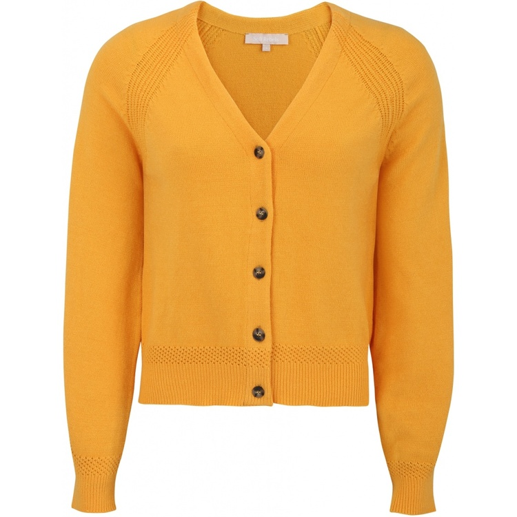 Saseline Cardigan Knit Kumquat