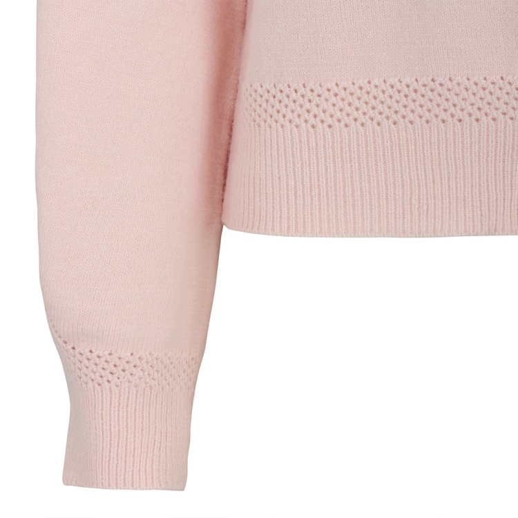 Saseline Cardigan Knit Rosa