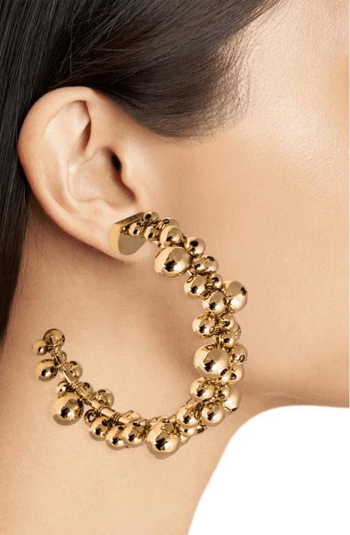 Berry Loop Örhängen Guld