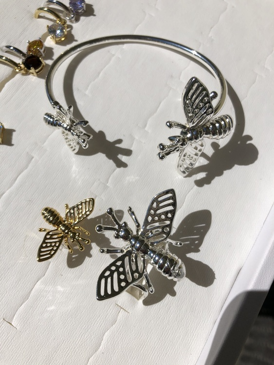 Insect Ring Silver