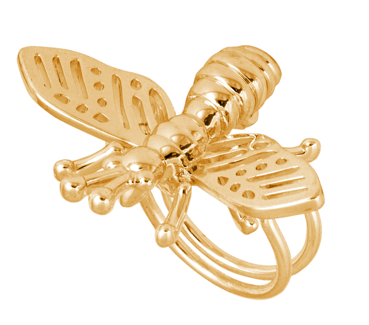 Insect Ring Guld