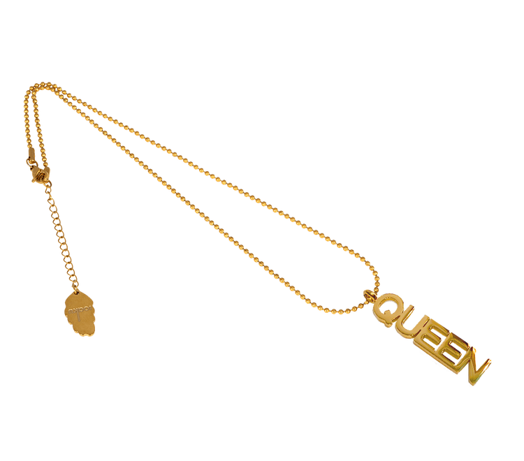 Queen Halsband Guld