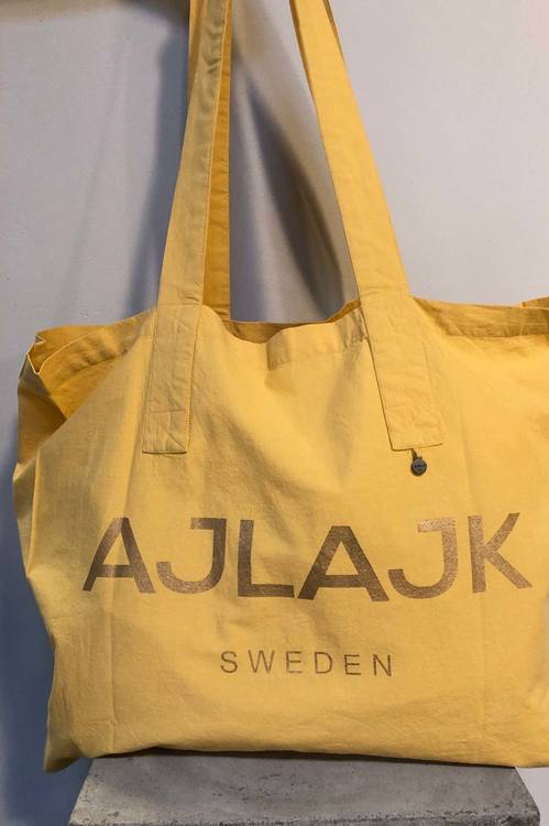 Big Bag med Ajlajk-print Honey