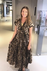 Luna Mae Dress Leopard