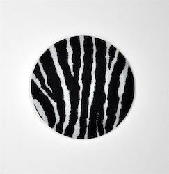 Glasunderlägg 4 - Pack  Zebra