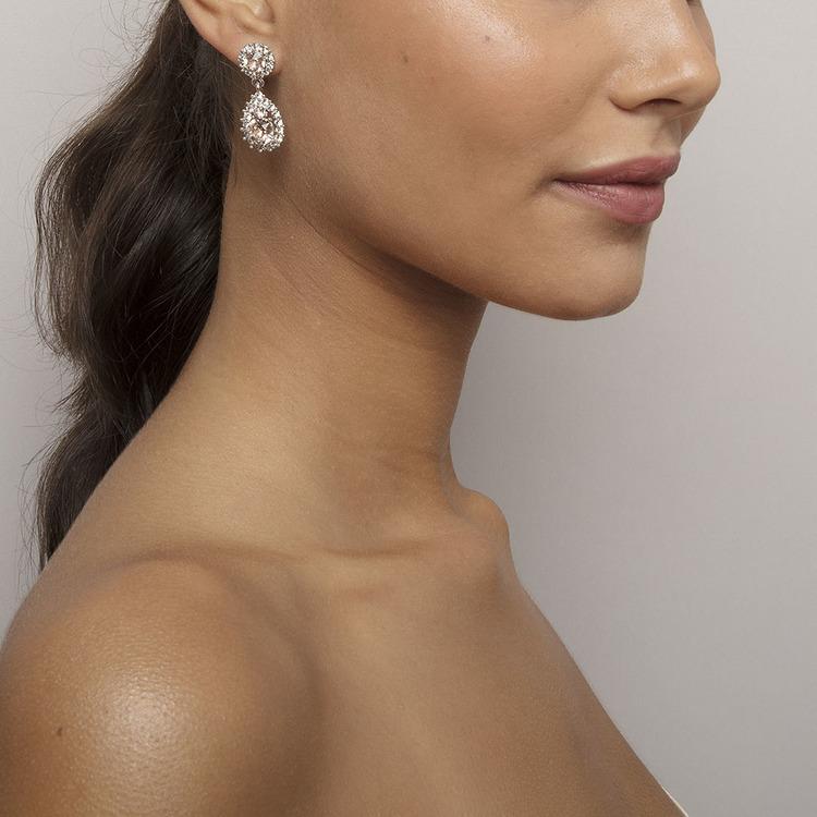 Sofia silk örhänge