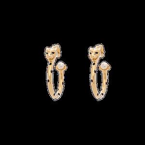Petite Sheba Hoops Örhängen Guld