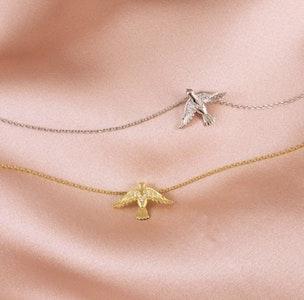 Eden Halsband Silver eller Guld