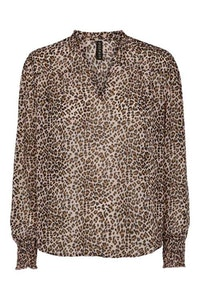Annabell Blus Rosa Leopard