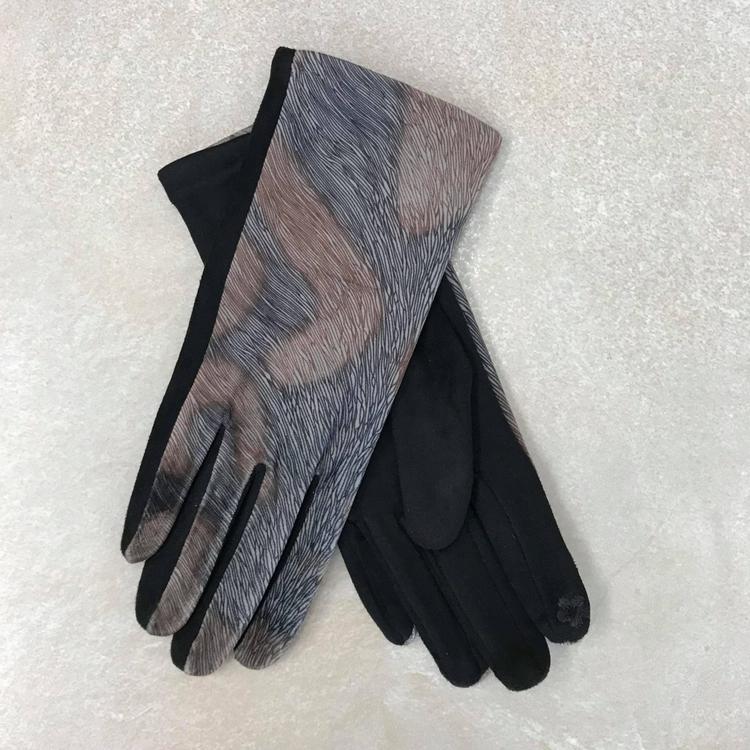 Handskar Brun-Svart