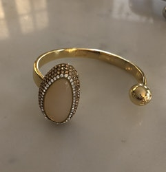 Goldmine Sparkle Cuff Gold/white