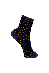 Socks Dots/Navy