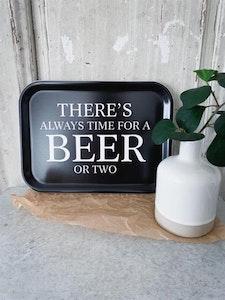 Bricka Beer Svart