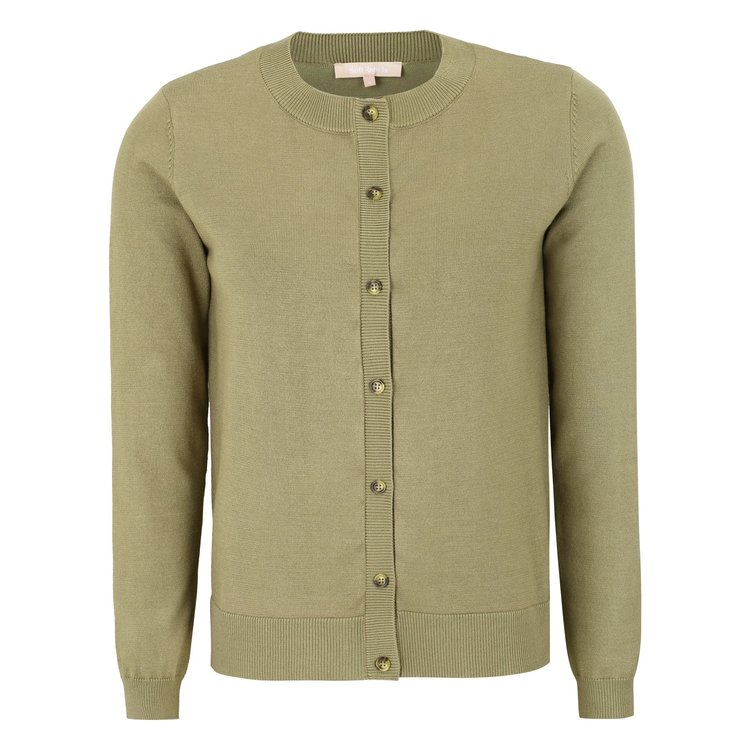 Marla Cardigan Covert Green