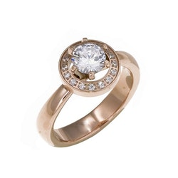 Estelle  Ring  Silver eller rosé