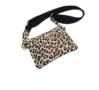 Sweet Furry Cross Leather Väska