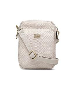 Triple Zip Väska Impress beige