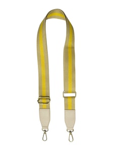 Strap Striped Yellow