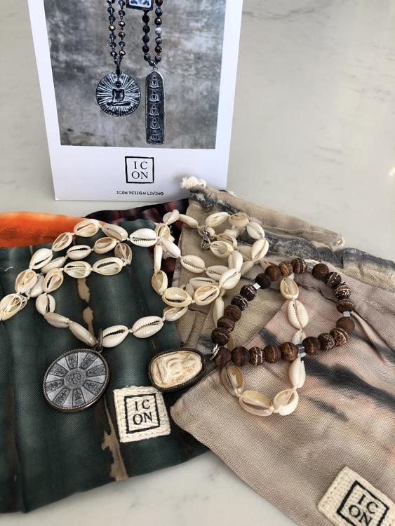 ICON Buddha Shell Halsband