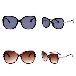 Solglasögon Strass Svart eller Brun