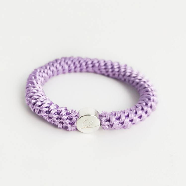 Ella Hair Tie  Välj mellan Lavendel, Gul, Vit, Rosa, Turkos