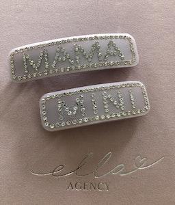 Hair clip Mama+Mini Lavendel