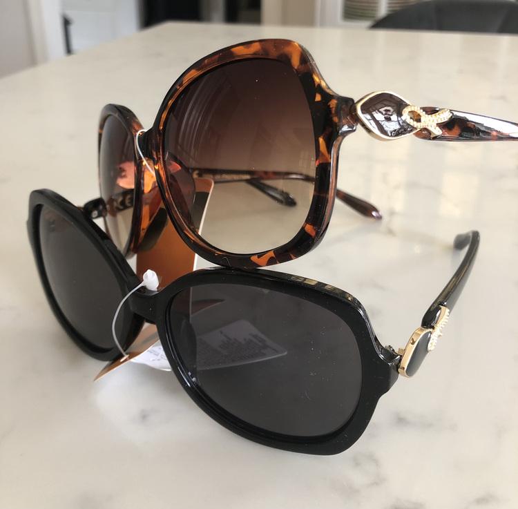 Solglasögon Brun eller Svart