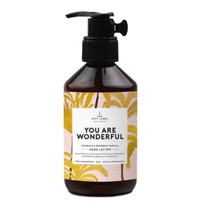 Hand-Lotion  You are wonderful