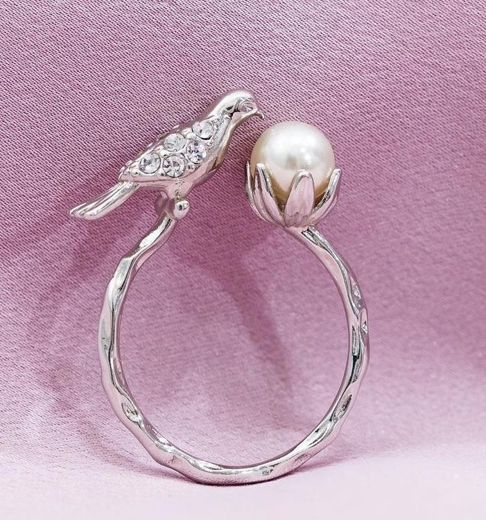 Eden Peace Ring Silver