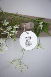 Nyckelring Husbil Pastell