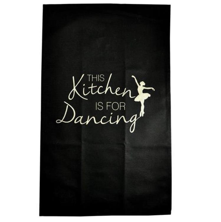 Kökshandduk This kitchen Svart