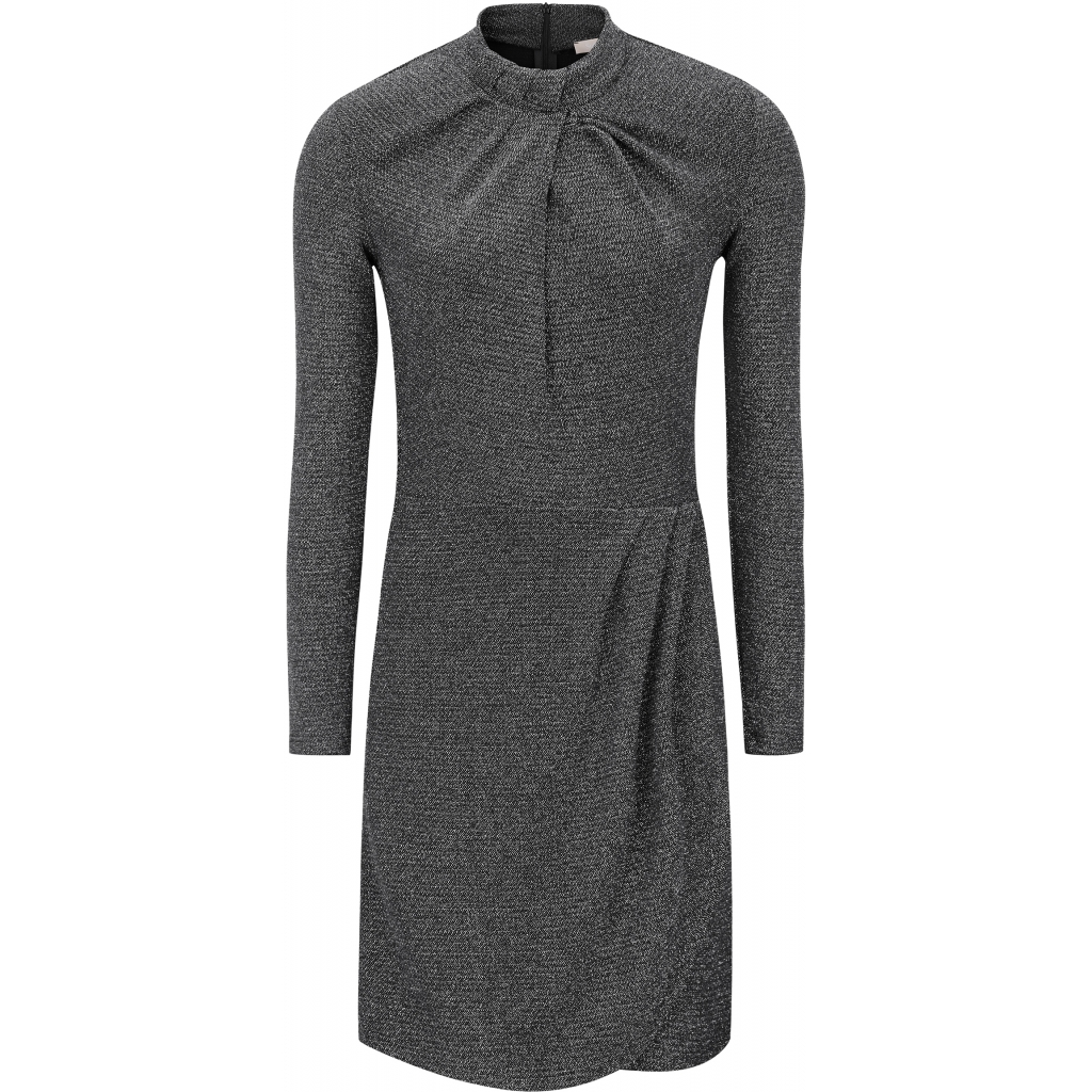 Milda Dress Black/Silver