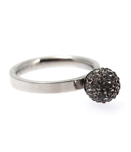 Dashi ring black diamond