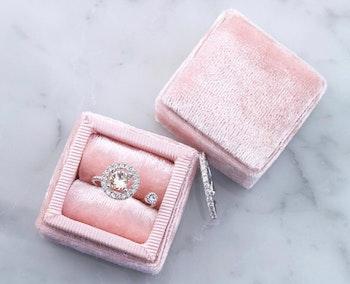 Miranda crystal ring