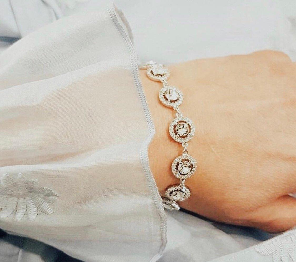 Miranda Crystal Armband