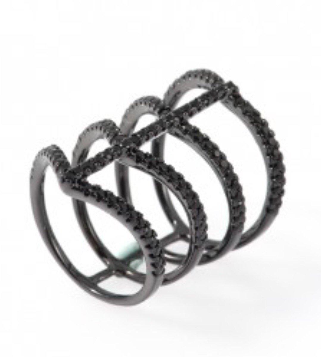 Ibiza  Ring Hematite
