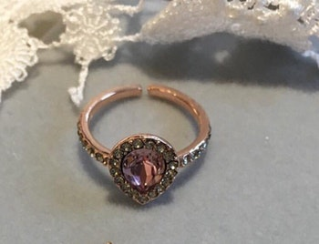 Amy  Ring Vintage rose